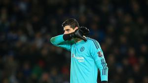 Thibaut Courtois believes a trophy and a European place would represent a 'positive' season for Chelsea