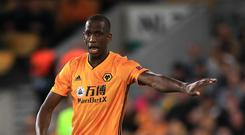 Willy Boly is fit again for Wolves (Mike Egerton/PA)