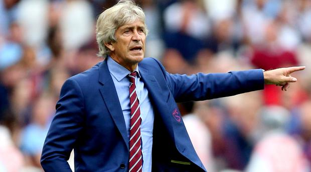 West Ham manager Manuel Pellegrini is expecting a tough test against the Blades (Nigel French/PA)
