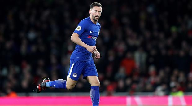 Danny Drinkwater has joined Aston Villa on loan until the end of the season after seeing his career stall at Chelsea. (Adam Davy/PA)