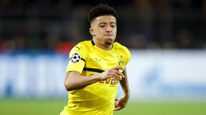 Borussia Dortmund's Jadon Sancho is Manchester United's primary summer transfer target (Adam Davy/PA)