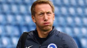 Brighton boss Graham Potter can plan for another season in the Premier League (Gareth Fuller/PA)