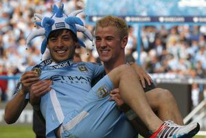 Silva's contribution helped City secure the title on a dramatic day in 2012 (Dave Thompson/PA)