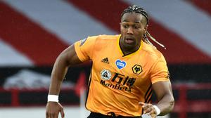 Wolves striker Adama Traore will attempt to play through the pain until the end of the season Rui Vieira/NMC Pool/PA)