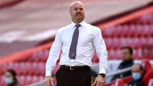 Sean Dyche, pictured, thinks other Burnley players are playing well enough to be selected by England along with Nick Pope (Oli Scarff/NMC Pool/PA)