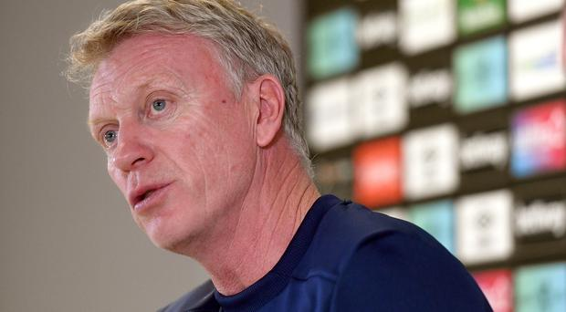David Moyes is back at West Ham (Kirsty O'Connor/PA)