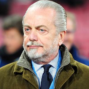 Aurelio De Laurentiis will take his time when it comes to appointing Napoli's next head coach
