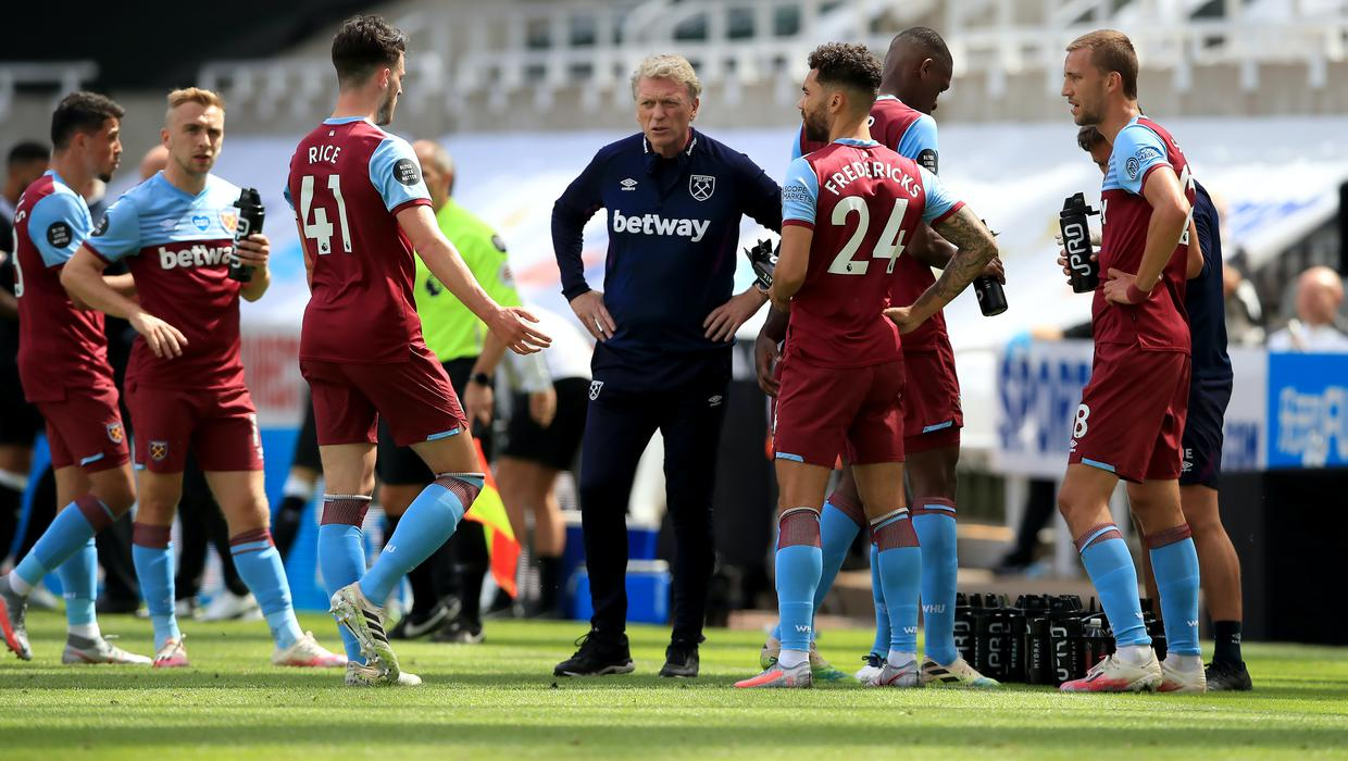 David Moyes says West Ham are ready to fight for survival until ...