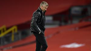 Manchester United manager Ole Gunnar Solskjaer saw his side held by Southampton (Peter Powell/NMC Pool/PA).