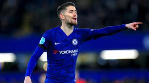 Jorginho has had to settle for a place on the bench lately (Mike Egerton/PA)
