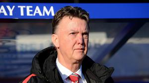 Louis van Gaal is apprehensive about changing formation