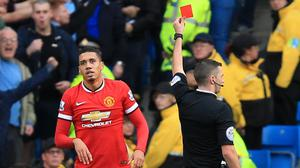 Chris Smalling's red card proved crucial as Manchester City secured bragging rights