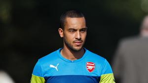 Theo Walcott has not played since sustaining a serious knee injury in January