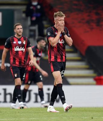 Bournemouth have been in a struggle all season long (Will Oliver/NMC Pool/PA)