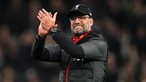 """Liverpool manager Jurgen Klopp is """"over the moon"""" about the return to training (John Walton/PA)"""