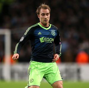 Christian Eriksen is being targeted by Tottenham