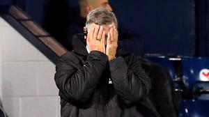 West Bromwich Albion manager Sam Allardyce reacts on the touchline during the Premier League match at The Hawthorns, West Bromwich.