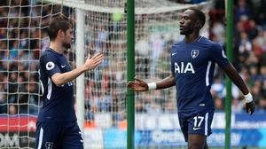 Tottenham's Moussa Sissoko, right, has not played since the New Year's Day defeat at Southampton (Nigel French/PA)