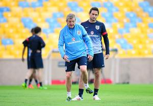 Roy Hodgson worked with Frank Lampard for a lengthy period during his time as England manager (Owen Humphreys/PA)