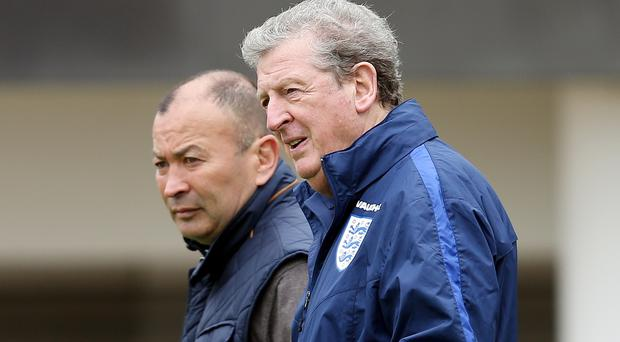 Roy Hodgson has texted Eddie Jones to wish him good luck ahead of the Rugby World Cup final (David Davies/PA)