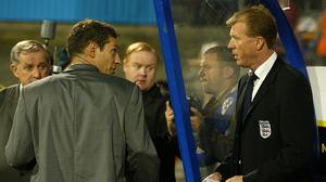 Slaven BiliC, left, masterminded victory over England during his time as coach of the Croatia national team