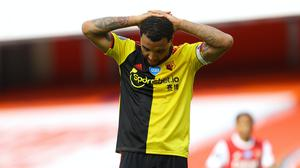 Troy Deeney and Watford were relegated following a 3-2 loss (Julian Finney/PA)