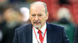 Liverpool chief executive Peter Moore will step down at the end of next month (Peter Byrne/PA)