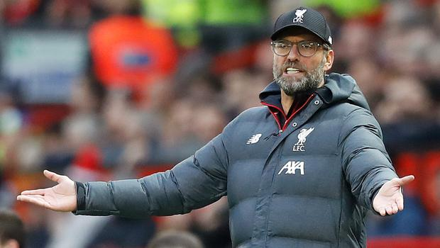 Liverpool manager Jurgen Klopp has again played down title talk (Martin Rickett/PA)