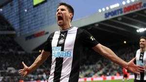 Newcastle have taken up an option to extended defender Federico Fernandez's contract by another year (Owen Humphreys/PA)
