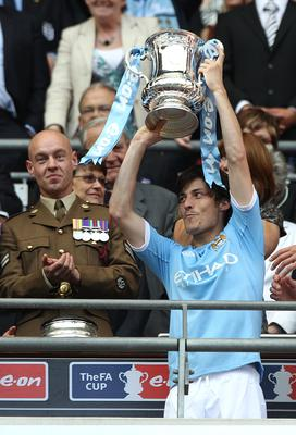 City and Silva's success began with the 2011 FA Cup (Nick Potts/PA)
