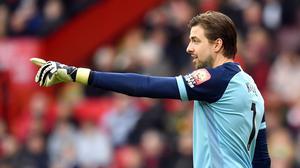Norwich goalkeeper Tim Krul insists their fight to remain in the top flight is not over (Anthony Devlin/PA).