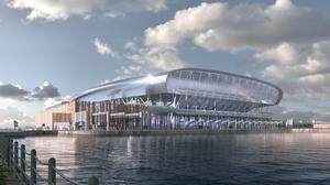 Work on Everton's new stadium at Bramley-Moore Dock is scheduled to begin later this year (Credit: Everton FC)