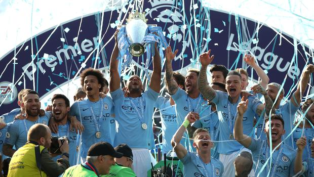 Manchester City posted record revenue of £532million and a profit of £10million, according to latest figures (Nick Potts/PA)