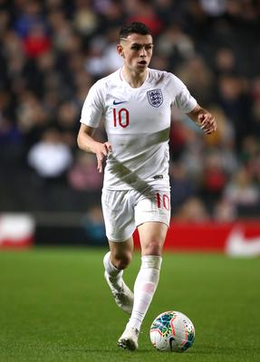 Phil Foden's England debut was overshadowed by his disciplinary breach (Tim Goode/PA)
