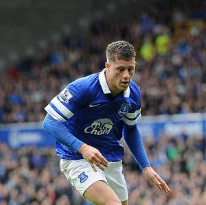 Ross Barkley is rumoured to be interesting Everton's city rivals Liverpool