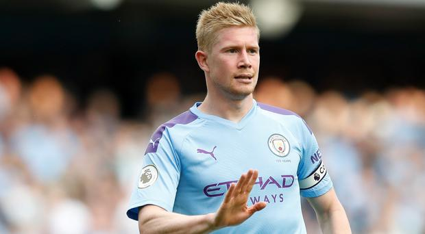 Kevin De Bruyne will sit out City's game against Wolves on Sunday (Martin Rickett/PA)