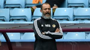 Manager Nuno Espirito Santo is remaining cool despite Wolves' Champions League challenge (Rui Vieira/NMC Pool/PA)