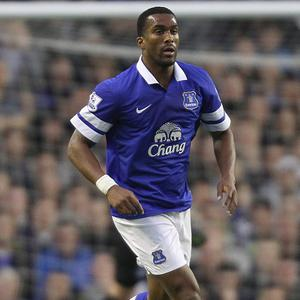 Sylvain Distin, pictured, faces an anxious wait to find out the extent of his injury