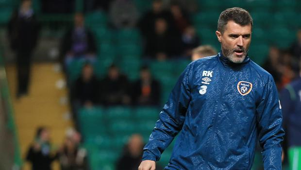 Republic of Ireland assistant manager Roy Keane has left his job with Aston Villa