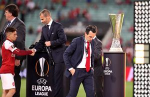 Unai Emery guided Arsenal to the Europa League final but suffered defeat to Chelsea (Adam Davy/PA)