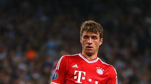 Thomas Muller says he is happy at Bayern Munich