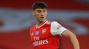 Kieran Tierney warns against a quick-fix at Arsenal (Adam Davy/NMC Pool)