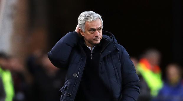 Jose Mourinho does not feel January is the best time to strengthen his Tottenham squad (Owen Humphreys/PA)