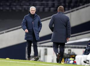 """Jose Mourinho said Leicester's penalty was """"out of context"""" at that point in the match (Frank Augstein/PA)"""
