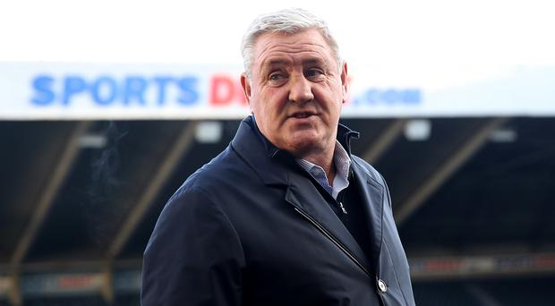 Newcastle head coach Steve Bruce started his coaching career at Sheffield United (Owen Humphreys/PA)