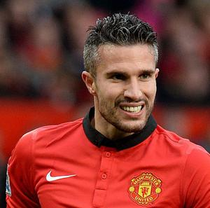 Robin van Persie faces a month on the sidelines after suffering a thigh injury