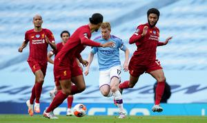 Kevin De Bruyne caused Liverpool significant problems (Dave Thompson/NMC Pool)