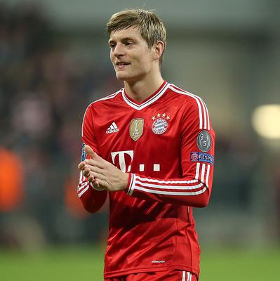 Toni Kroos is not heading for Old Trafford