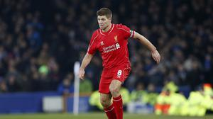 Steven Gerrard could not inspire Liverpool to victory in the 224th Merseyside derby