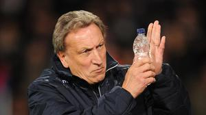 Neil Warnock, pictured, has been fined over comments he made about referee Craig Pawson